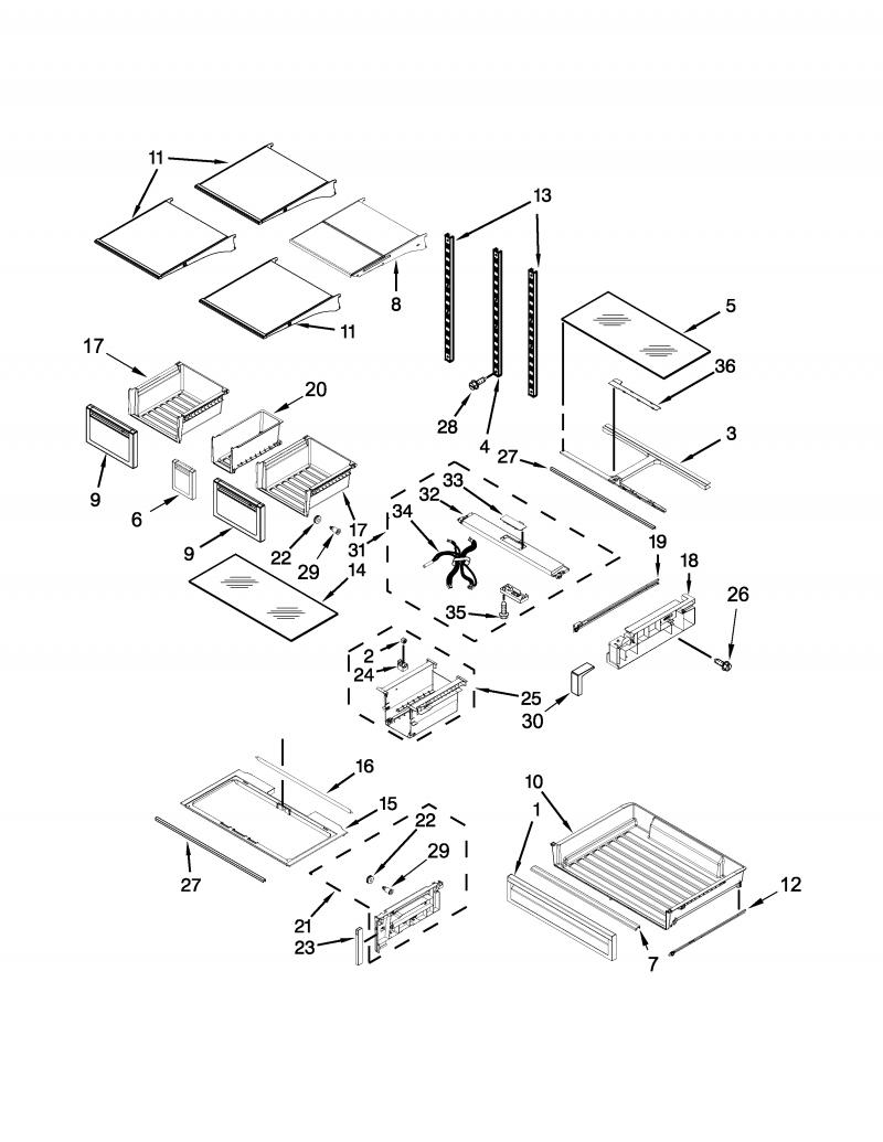 stp appliances  diagramas de  wrf757sdeh00